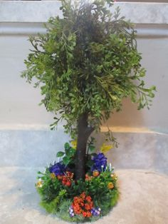 Dollhouse Miniature Plant Add Green to your Decor 1:12 Plant #9