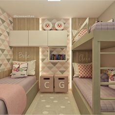 Pin: room for kids. Small Room Design Bedroom, Teen Bedroom Designs, Cute Bedroom Ideas, Kids Room Design, Room Ideas Bedroom, Home Room Design, Hotel Bedroom Decor, Bed For Girls Room, Girl Room