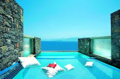 No race to get a sun lounger, no kids running around, just you, the view, and your own private pool...