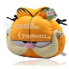 Giant Garfield pillow.