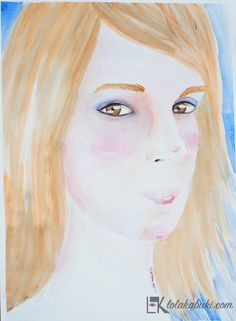 RETRATOS PERSONALIZADOS | Lola Kabuki  #love #art #watercolor #paintings #illustration