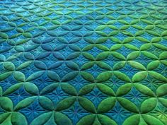 Amazing quilting technique done by Jo Ann Blade and Kim Diamond on an Innova using digital quilting patterns with AutoPilot