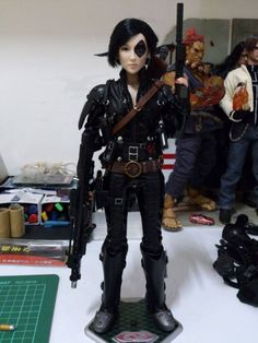 Domino (X-Force) Custom Action Figure