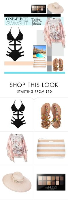 """Yep, They're In! The One-Piece"" by hbee-1234 ❤ liked on Polyvore featuring Laidback London, Etro, Vera Bradley, Maybelline and onepieceswimsuit"