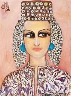 arab artist hilda hiary