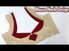 In this video I have told you a very simple and easy blouse neck design step by step in Hindi along with English subtitles. It is a very easy video of blouse. Brocade Blouse Designs, Patch Work Blouse Designs, Kids Blouse Designs, Saree Blouse Neck Designs, Simple Blouse Designs, Neckline Designs, Stylish Blouse Design, Dress Neck Designs, Blouse Neck Patterns