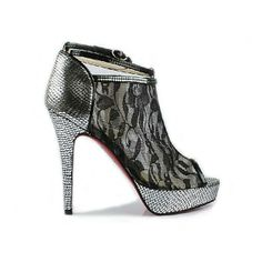 Red Bottom Shoes Christian Louboutin | Christian Louboutin Booties Brigette 140 Python Red Bottom Shoes $740 ...