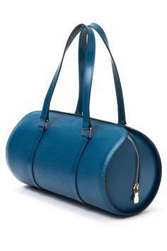 Vintage Leather Soufflot Shoulder Bag