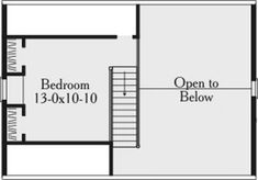Plan 3460 Second+Floor+Plan