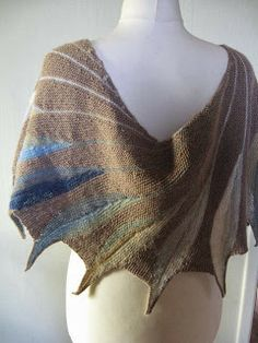 1000+ images about knit dreambird shawl on Pinterest ...