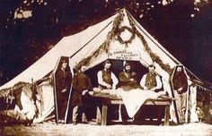 Embalming tent at camp Letterman,Gettysburg,Pa.From the David Hack Civil War photography collection(Gardner's photographic sketchbook of the war)
