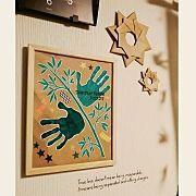 On Walls/handmade/モノトーン/折り紙/節分/水彩絵の具...などのインテリア実例 - 2018-01-19 11:06:19