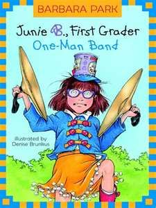 Junie B Jones by Barbara Park.  Other similar books are Ramona Quimby by Beverly Cleary (I think) and books by Judy Blume.