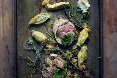 Jan Hendrik has become the first South African chef to get that coveted Michelin star. Try his Roast Lamb with Stuffed Pumpkin Flowers. Michelin Star Food, Pumpkin Flower, Oil For Deep Frying, Flower Food, Ground Almonds, Lamb Recipes, Roasting Pan, Roast Lamb, I Love Food