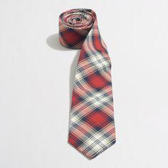 J.Crew Factory - Factory oxford plaid tie