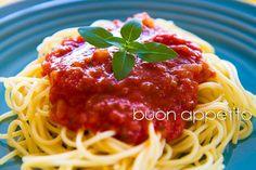 Spaguetti ao sugo
