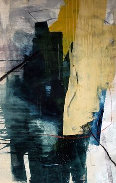 HEATHER DAY: paintings in the studio.
