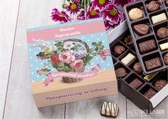 Бельгийский шоколад в подарочной упаковке «Цветущий букет» купить подарок в ArtSkills: фото, цена, отзывы