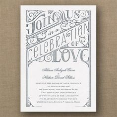 All+in+the+Details+-+Classic+Invitation+-+White+Shimmer