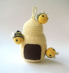 Crocheted Beehive
