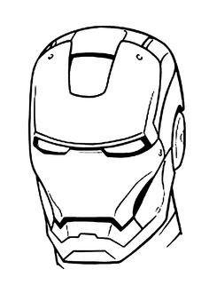 Iron Man Coloring Page Printable | Superheroes Coloring ...