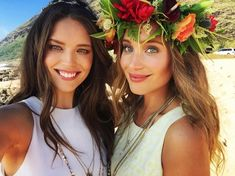 Emily DiDonato and Hannah Davis are all smiles on Instagram.