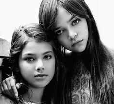 """I heart this beautiful image of MakennaKlien and Laneya Grace photographed by Robert Beczarski...come read my latest blog article on children's """"Back to School"""" hairdos. Click on link to read article."""