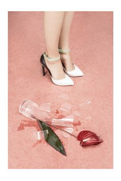 A visual for footwear by Prabal Gurung. [Courtesy Photo]