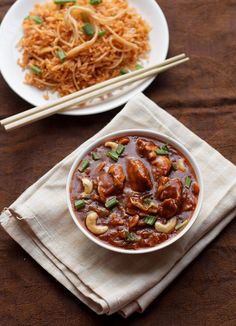 Chicken Schezwan is a famous Mumbai Street-food served with schezwan fried rice or as a side dish.