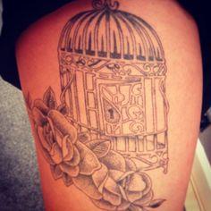 Birdcage tattoo