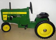 John Deere 720 Pedal Tractor JD-TBEK45180 - www.scruggsfarm.com