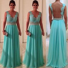 Bridesmaids dresses... love this one in different color and shorter hem.