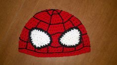 spider man inspried hat by madicyn09lee on Etsy, $16.00