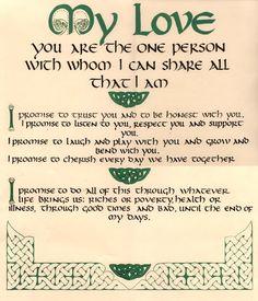 Irish love quote