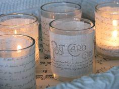 Jeanne d' Arc style candleholders