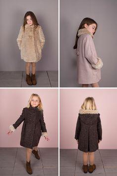 abrigos elegantes para niña de Teté & Martina