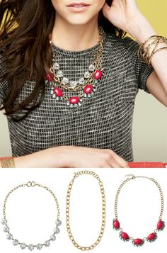 new Stella & Dot fall 2013 collection! Wear these 3 necklaces together or separate, either way, LOVE them!