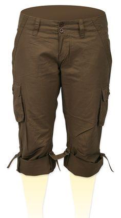 Capri Pants - Brown size 13