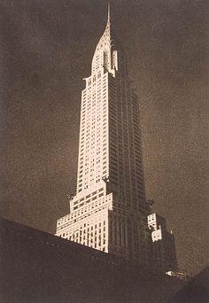 Czech pictorialism - Drahomir Josef Ruzicka. Chrysler Building