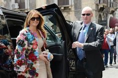 Melania Trump Wore A Jacket That Cost More Than Your College Tuition In Italy Vogue Fashion, Fashion Models, New York City Images, Les Rides, First Lady Melania Trump, Christian Louboutin Heels, Victoria Secret Fashion Show, Lingerie Models, How To Wear
