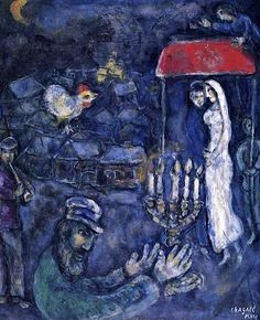 Marc Chagall | inspired by his wife Bella and the village he grew up in