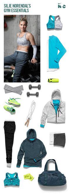 Silje Norendal's favorite cold-weather #training gear. #nike