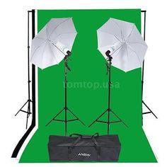 Photography Studio Portrait Product Light Tent Kit Photo Video Equipment TA S2L0