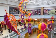 the changing world of shopping mall christmas decorations - Google Search