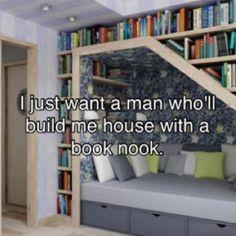 Book nook!