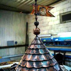 Навершие башни/колпак. Медь, выколотка    #designstudioontin #belarus #minsk #russia #pogestiru #handmade #coopper #art #дизайнстудияпожести #cool #metal #desighn #studio #workshop #workorder #forging #flame #chasing #decoration #interior #exterior #etching #light #photo #iron #медь #дизайн #интерьер #экстерьер #строительство