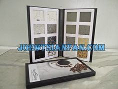 stone show binder sample book/ display book / sample brochure More sample book for showing stone please contact with me.