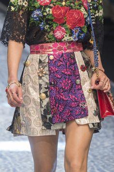 Dolce & Gabbana Spring 2017 details