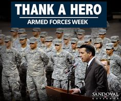 Thank you to those who serve our great state and country.