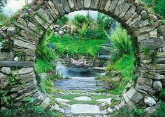 Tearmann si - A celtic Sanctuary by Mary Reynolds Designs